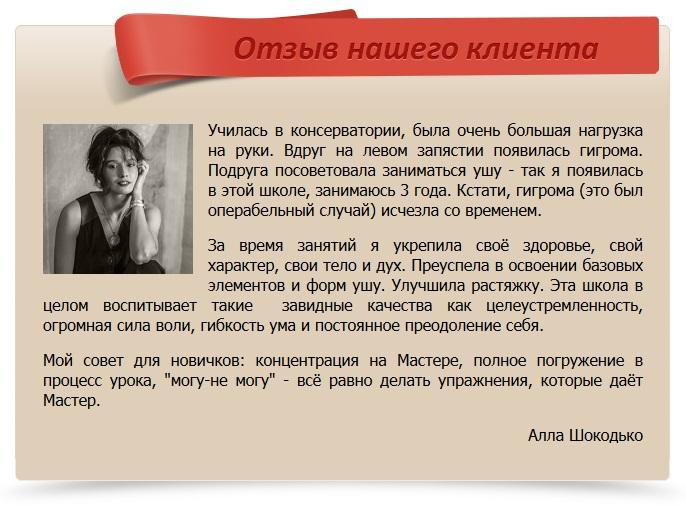 отзыв Шокодько